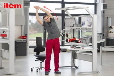 Instant tips to keep fit@work with item