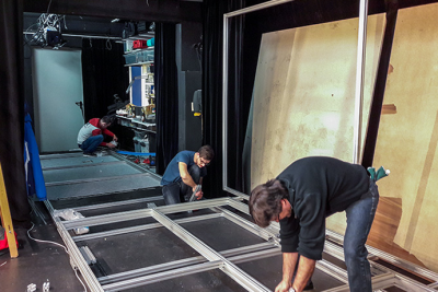 Speedy stage technology at the Lechthaler-Belic theatre