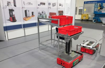 Automated guided vehicle system for SMEs