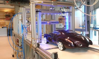 The smallest car wash in the world