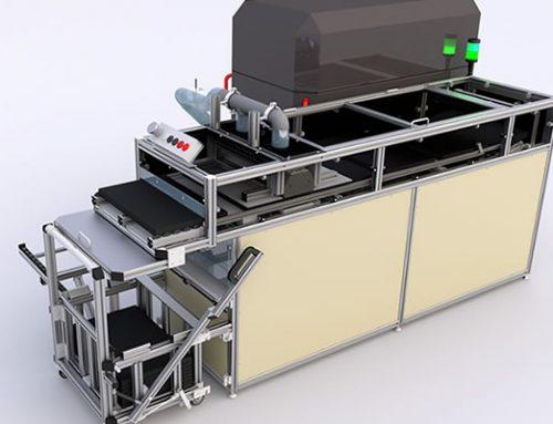 Sistema de limpieza para portapiezas reutilizables