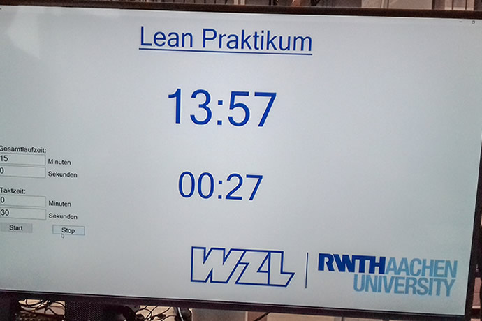 Learning about lean assembly at RWTH Aachen University