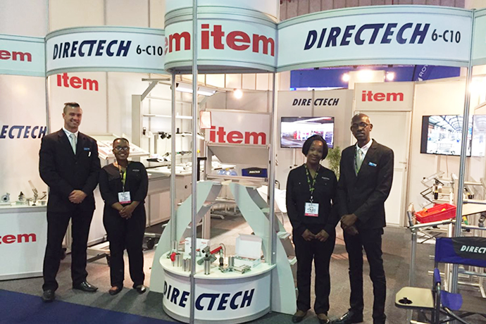 Trade fair(s) with the big players – Directech gets started