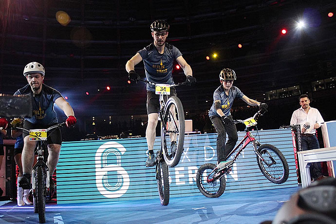 Trial bike shows – staying on track with item