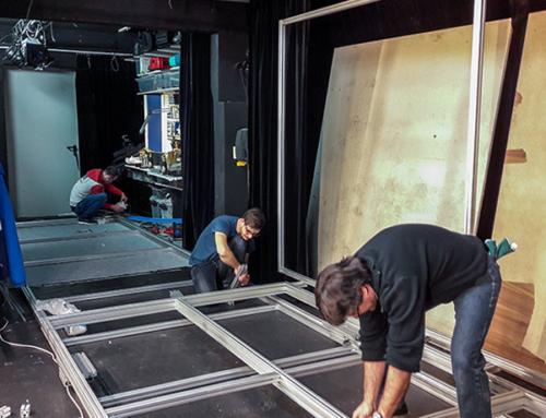 Tecnología escénica rápida en el teatro Lechthaler-Belic de Graz