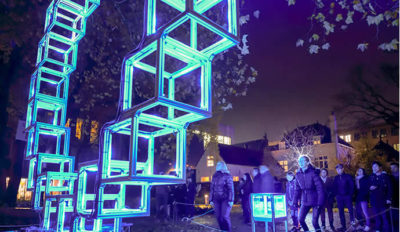 The GLOW festival – turning movement into light