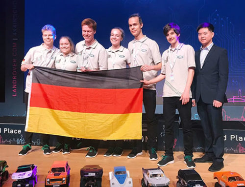 A technology competition that fosters team spirit