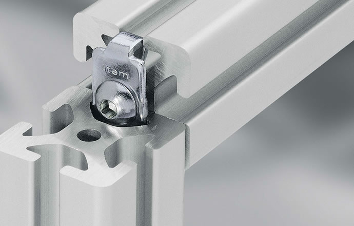 Overview of aluminium profile fasteners – a solution for every application