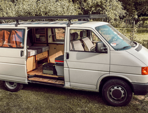 An aluminium roof rack – a must-have for your VW camper van