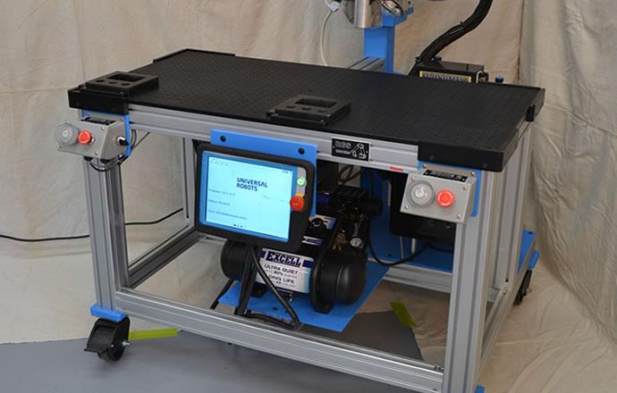 DVF Robotic Gluing System