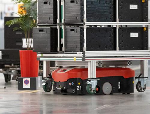 Uso de Sistemas de vehículos guiados automáticamente en Audi