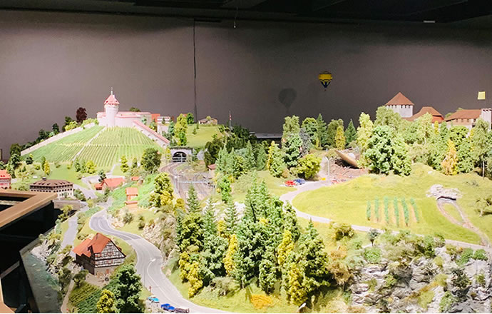 The Swiss miniature world with an unmistakable profile