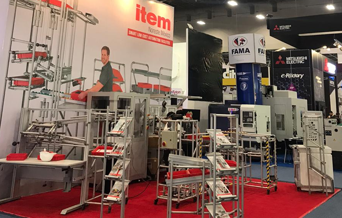 item Mexico and item Noreste at Expo Manufactura 2020: News from Booth 622