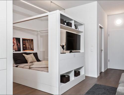 El concepto de sala modular para una vida flexible