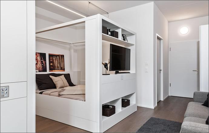 Modular room concept for flexible living