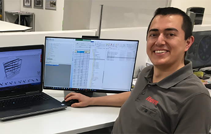 Daniel Alvarez, item Design Engineer