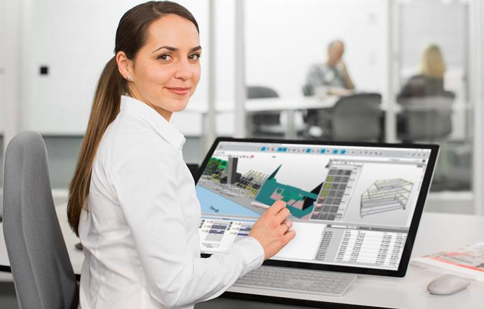 Suministro de material la producción y montaje - planificación óptima de la zona de material