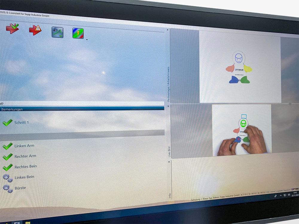 Cognitive Assistance System Training