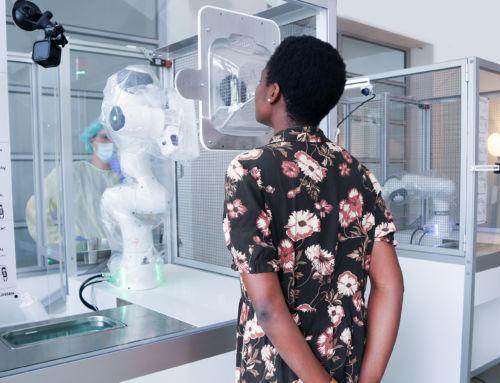 Pruebas COVID automatizadas gracias a los esfuerzos incansables de un robot